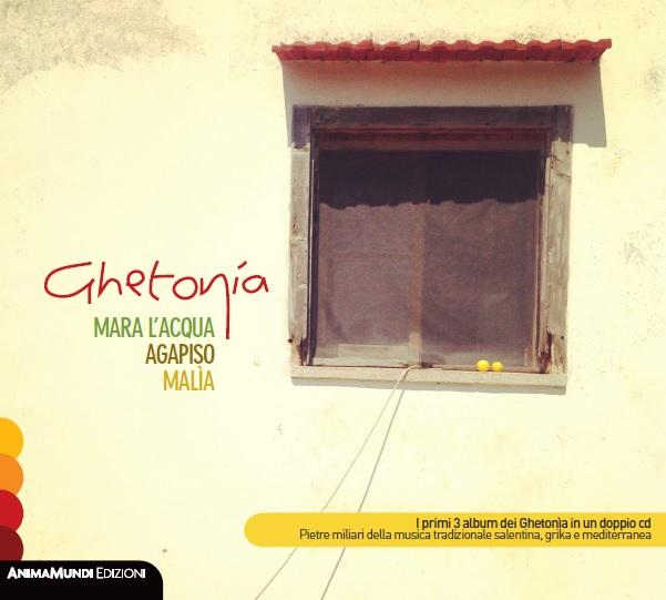 È USCITO MARA L'ACQUA / AGAPISO / MALÌA LE ORIGINI 1993 - 1995 IL COFANETTO  CON I PRIMI 3 ALBUM DEI GHETONIA - AnimaMundi Edizioni