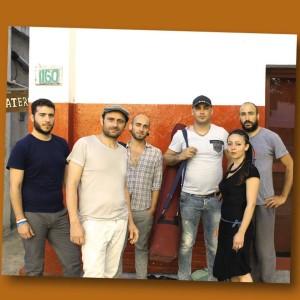 Gli Almoraima in Turchia e India per il  Cafè cantante tour