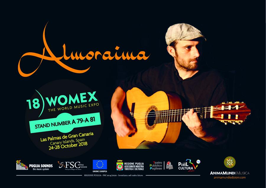 Almoraima al Womex dal 24 al 28 Ottobre 2018