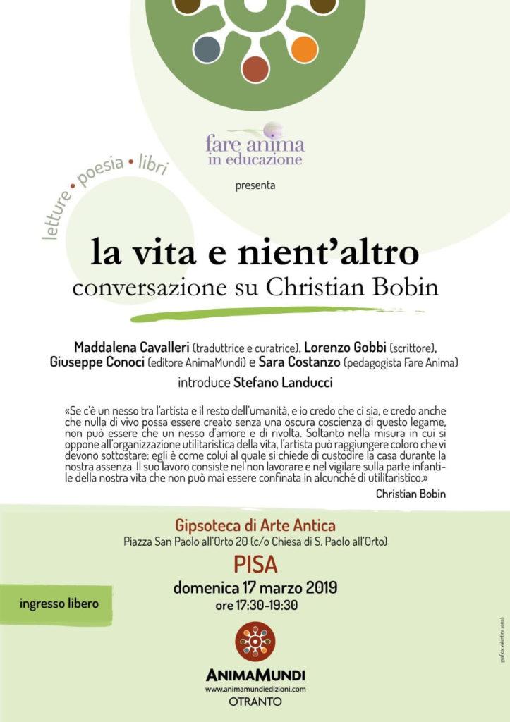 La vita e nient'altro | Pisa domenica 17 marzo