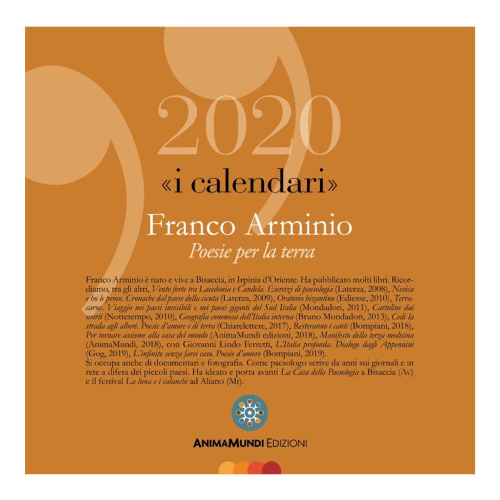Calendario 2020 di Franco Arminio